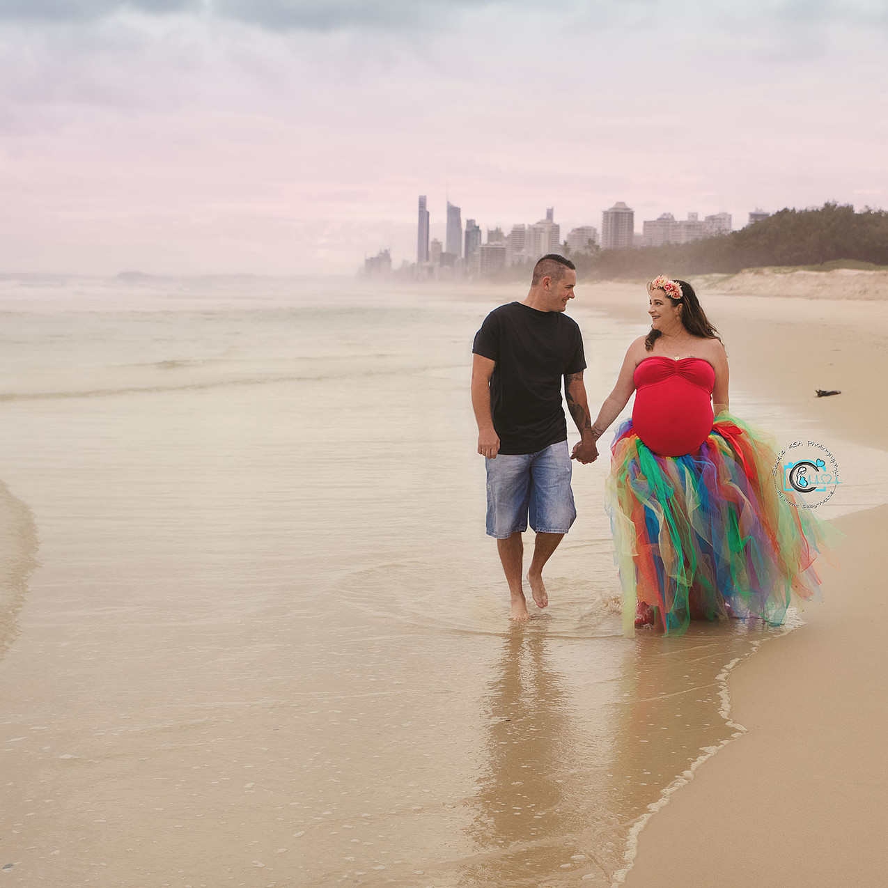 Rainbow Maternity Session