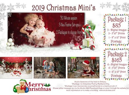 2019 Christmas Mini Sessions