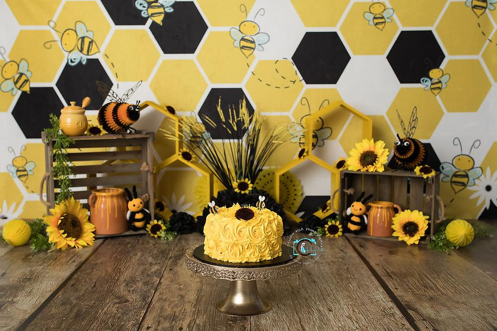 Bumblebee Cake Smash