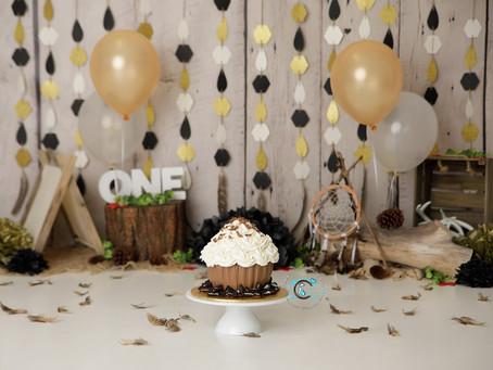 Happy 1st Birthday Kyrie : Gold Coast Cake Smash Photography