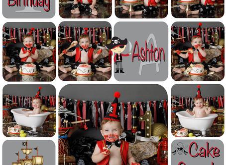 Ahoy me heart's, Ashton's turning 1 : Gold Coast, Ormeau, Brisbane Cake Smash Photography