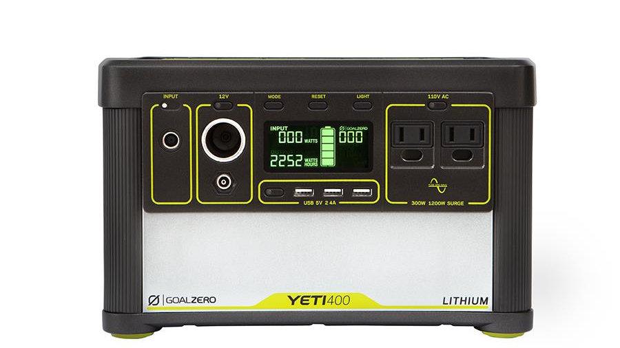 Yeti Lithium 400 110V Generator