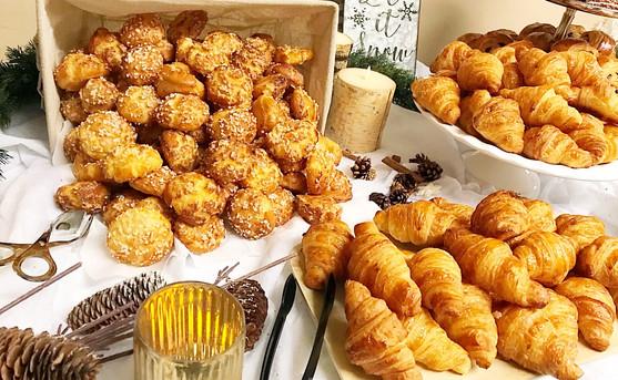 Chouquettes - Mini Croissants