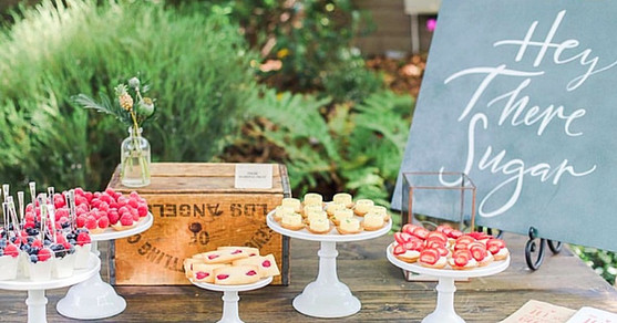 Charlotte Verrines - Raspberry Mini Tartelettes - Raspberry Financiers - Lemon Mini Tartelettes - Raspberry Mini Tartelette