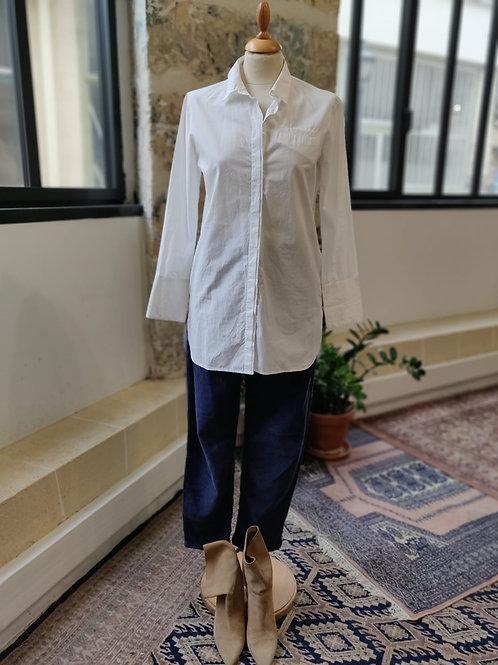 GERARD DAREL - Chemise blanche en coton - T.36
