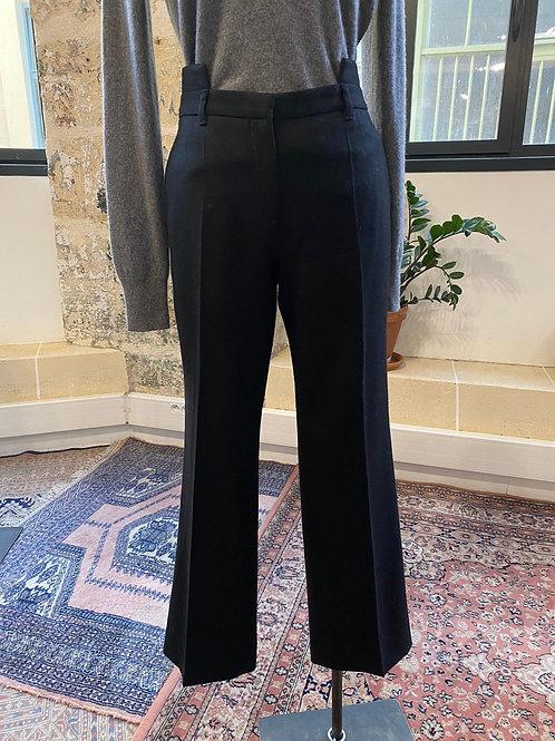 GIVENCHY - Pantalon noir en laine - T.40