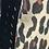 Thumbnail: SANDRO PARIS - Manteau mi-long léopard en laine - T.1
