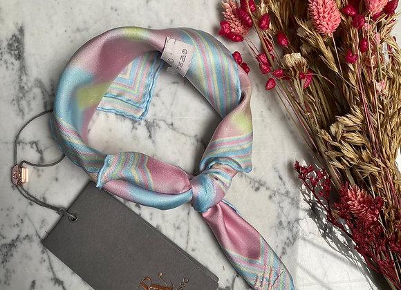 RALPH & RUSSO - Carré de soie couleurs pastels