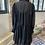 Thumbnail: H&M - Robe noire plumetis et volants - T.44