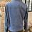 Thumbnail: WRANGLER - Veste bleue en jean zippée - T.M
