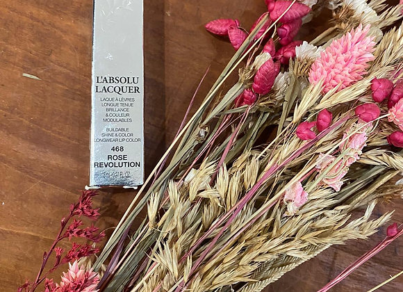 LANCOME - L'absolu Lacquer 468 rose révolution