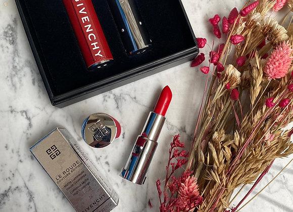 GIVENCHY - Rouge à lèvres rouge édition 306 carmin escarpin + 2 écrins