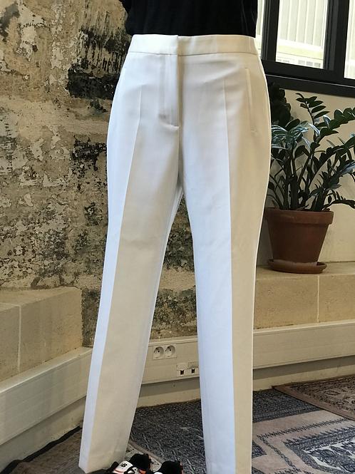 KENZASMG - ZARA - Pantalon blanc de tailleur - T.M