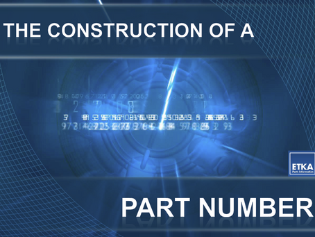 VW | Audi | Seat | Skoda | The Construction Of A Part Number
