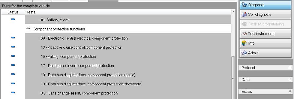 Audi | Bentley | MAN | Seat | Skoda | VW | VAG | Component Protection Removal