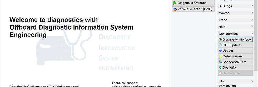 ODIS Engineering V12.2.0 Remote Installation Setup