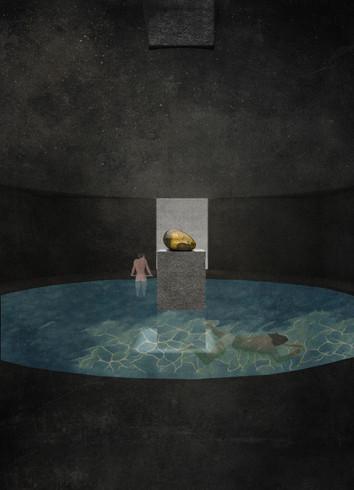 vista interior - espaço de silêncio