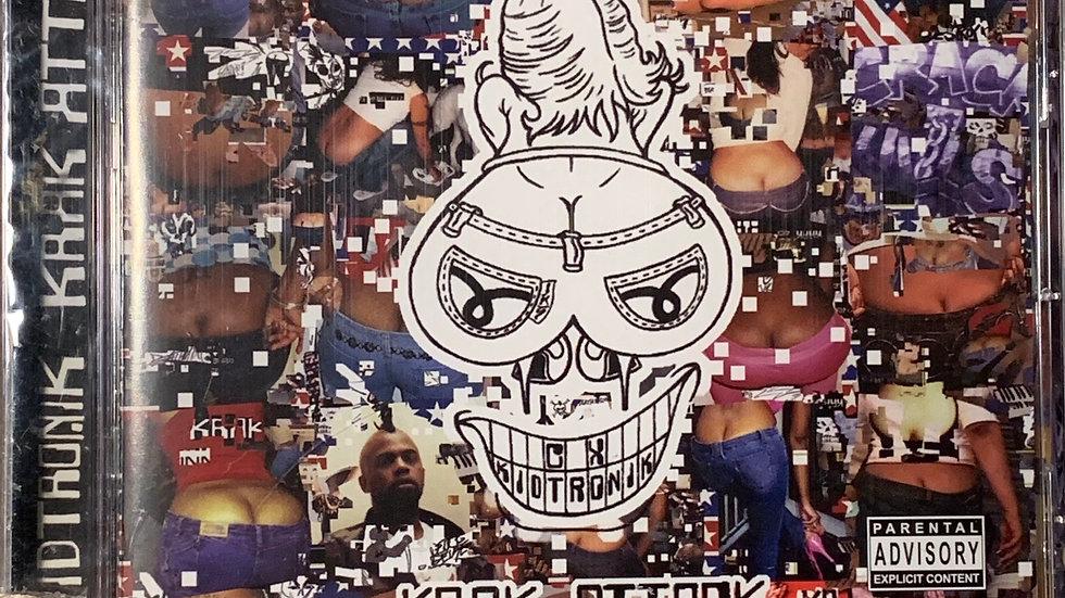 """CX KIDTRONIK """"KRAK ATTACK"""" CD"""