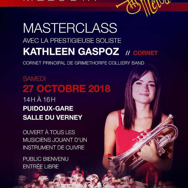 Masterclass avec Kathleen Gaspoz