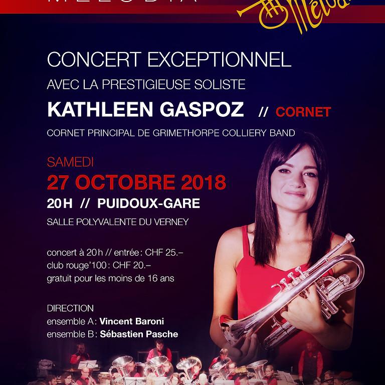 Concert avec Kathleen Gaspoz