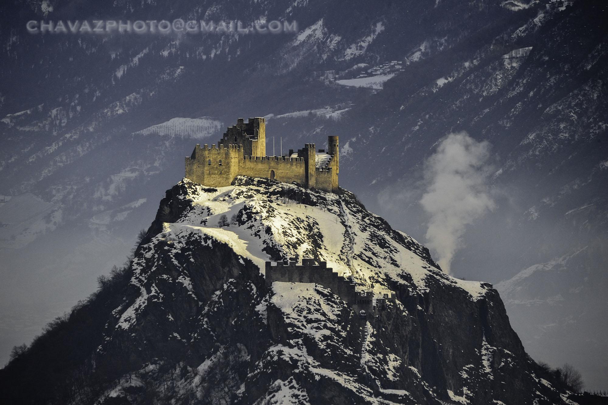 châteaux Valère et Tourbillon