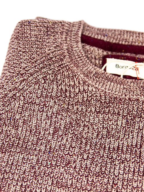 Borgo28 Chunky Knit in Brick