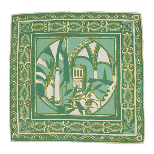 Assisi Pocket Square - Verde
