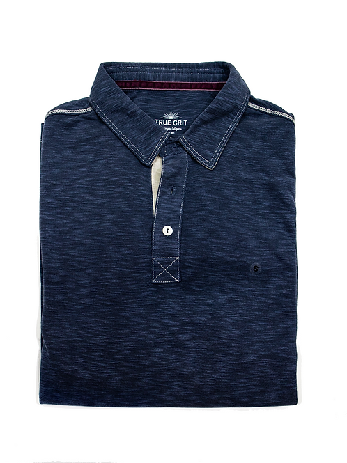 True Grit Polo - Midnight
