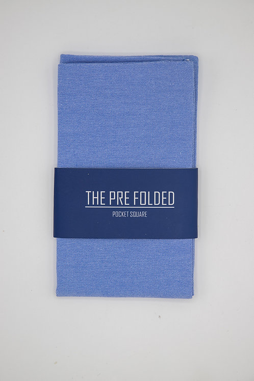 Pre Folded Pocket Square - Blue
