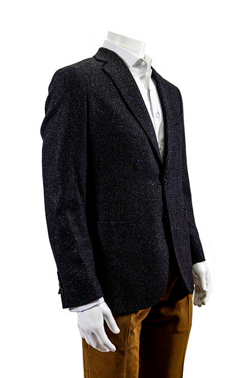 Salt & Pepper Tweed Blazer