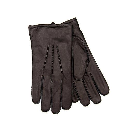 Brown Leather Gloves - Gloves International
