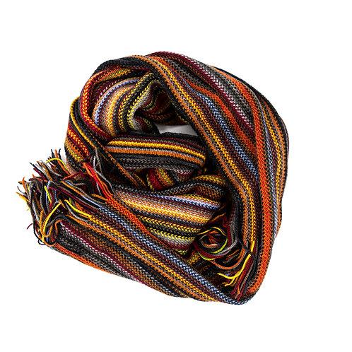Chelsey by Joseph - Multi Stripe Wool Scarf
