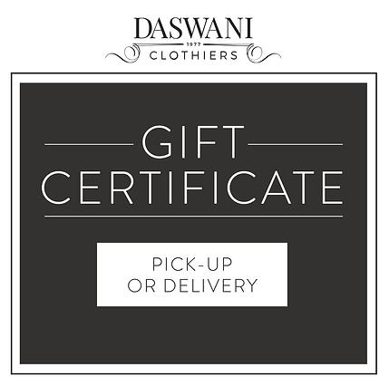 Daswani Gift Certificate