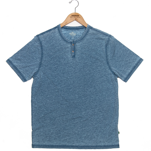 True Grit Tee - Marine Blue