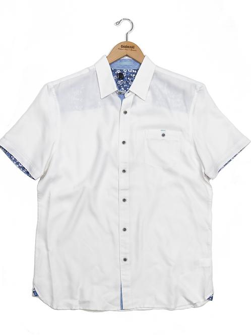 Short Sleeve Contrast Shirt