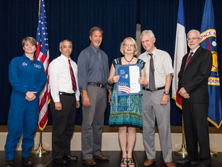 Barrios Technology's Annenkova Receives  NASA's Coveted Silver Snoopy