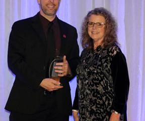 Barrios JETS Employee Presented President's Award