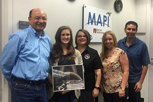 Chapman-Bussey Receives NASA Power of One Award