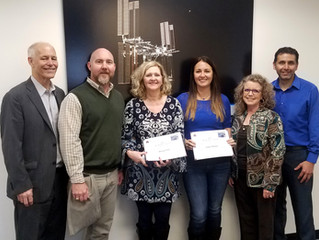 Barrios Recognizes Employees with 2017 3rd Quarter Performance Awards