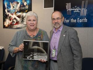 NASA Exemplary Performance Award Presented to Barrios Technology's Becky Difard
