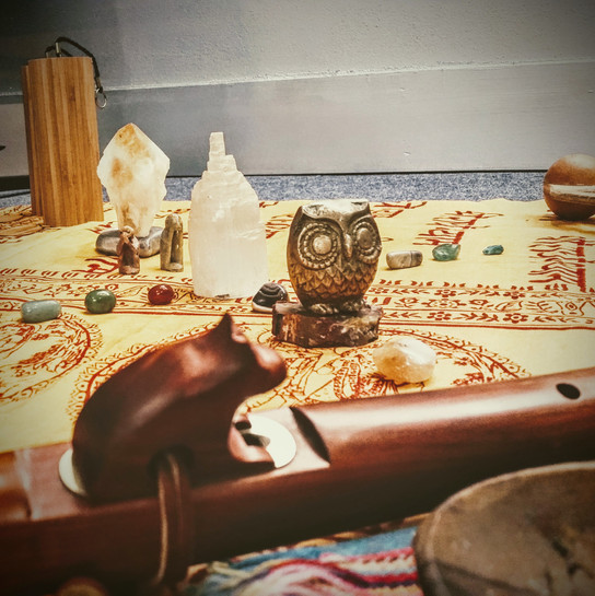 Sound Healing Altar (detail) | Artis Moon