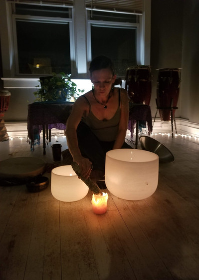 Artis Moon, Sound Healer & Interdisciplinary Artist