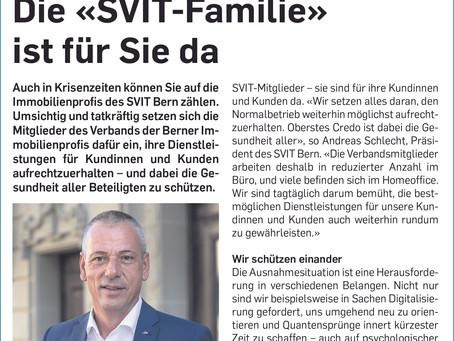 Die «SVIT-Familie» ist für Sie da