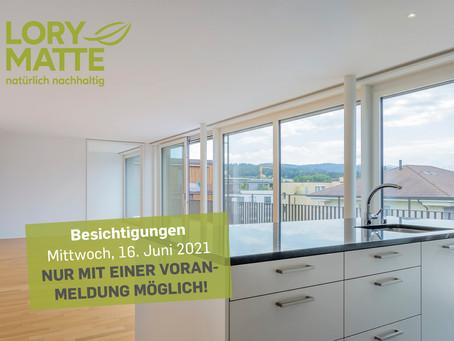 Besichtigungen in Münsingen - nur mit Voranmeldung möglich!