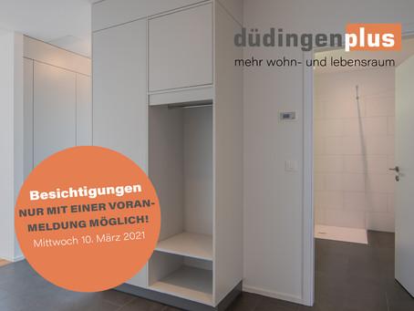 Besichtigungen in Düdingen - nur mit Voranmeldung möglich!