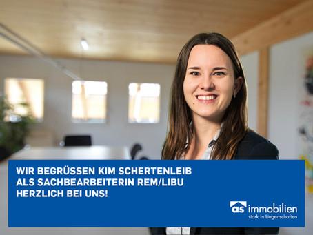 Herzlich willkommen Kim Schertenleib!