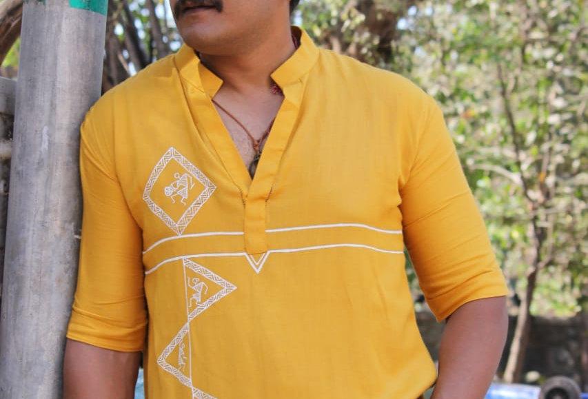 Turmeric Yellow Men's Kurta