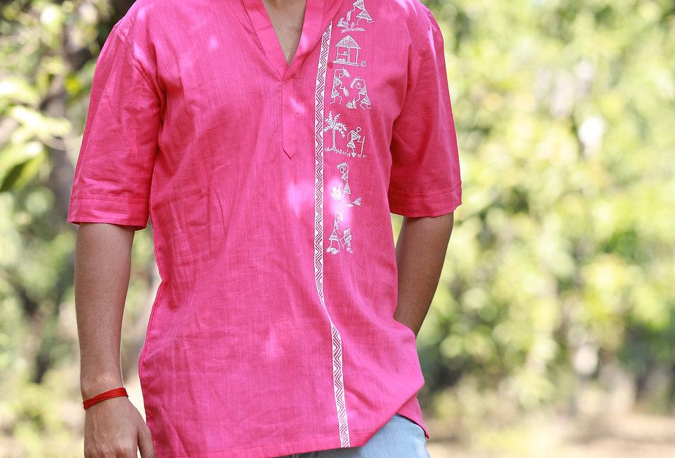 Ethnic Pink Kurta