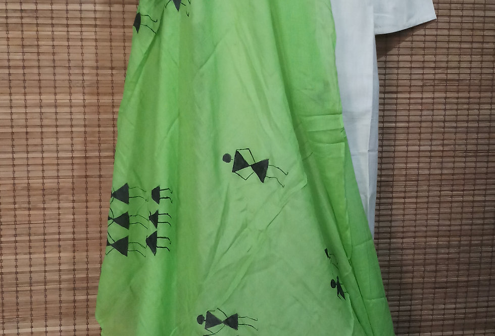 Pear Green Stole