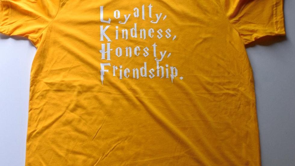 Hufflepuff House Traits T-shirt